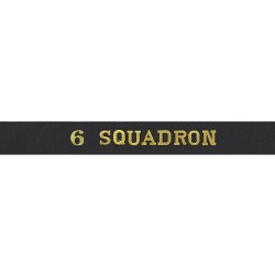 6 Squadron - Royal Navy Cap Tally