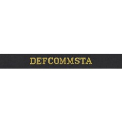 DEFCOMMSTA Cap Tally - Royal Navy