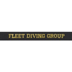 Fleet Diving Group Cap Tally - Royal Navy