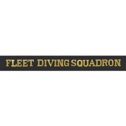 Fleet Diving Squadron - Royal Navy Cap Tally