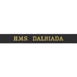 HMS Dalriada Cap Tally - Royal Navy