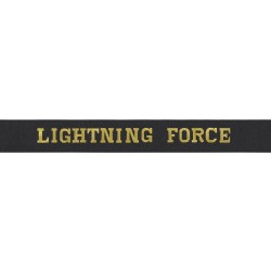 Lightning Force - Royal Navy Cap Tally