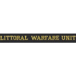 Littoral Warfare Unit - Royal Navy Cap Tally