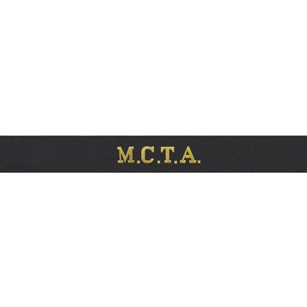 Maritime Commissioning and Testing Authority (MCTA) - Royal Navy Cap Tally