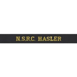Naval Service Recovery Centre Hasler (NSRC) - Royal Navy Cap Tally