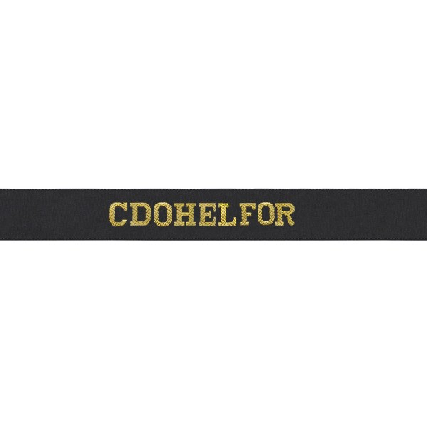 Commando Helicopeter Force - Cdohelfor Cap Tally - Royal Navy