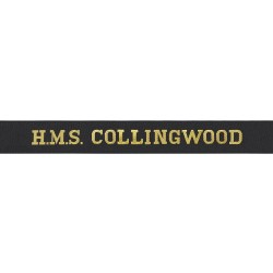 HMS Collingwood Cap Tally - Royal Navy