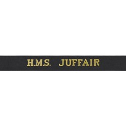 HMS Juffair Cap Tally - Royal Navy