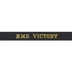 HMS Victory Cap Tally - Royal Navy