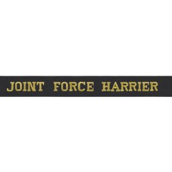 Joint Force Harrier Cap Tally - Royal Navy