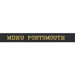 Ministry of Defence Hospital Unit Portsmouth - MDHU Portsmouth - Royal Navy Cap Tally