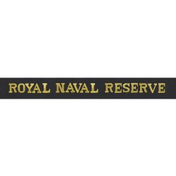Royal Naval Reserve - Royal Navy Cap Tally
