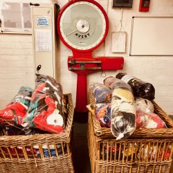 Textile Waste Recycled and given to Local Schools.